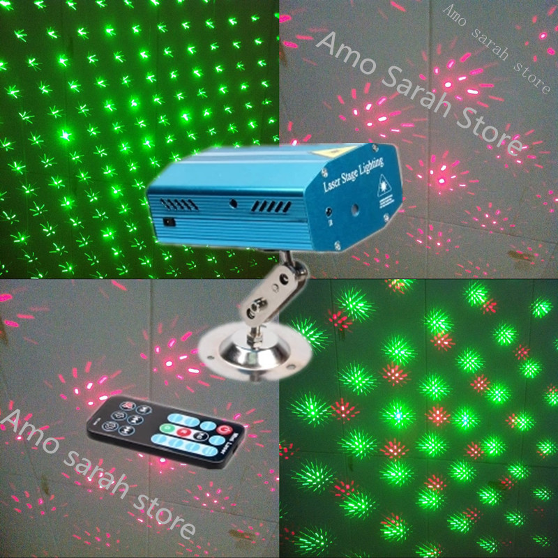 2015 newest Hot Mini RG Projector R G DJ Disco Light Stage Xmas Party Laser Lighting