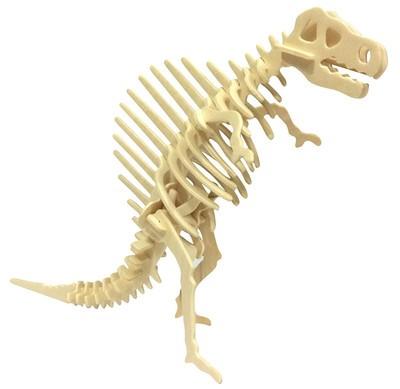 13Styles Dinosaur Serials Wooden Puzzles Baby Toy Tyrannosaurus Rex Triceratops Pterosaur 3D Wooden Vivid Models Kids Puzzle