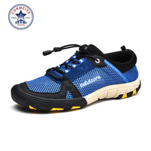 2016 New Lightweight Unisex Outdoor Hiking Shoes Men Aqua Shoes Quick Dring Breathable Walking Trekking Shoes Men