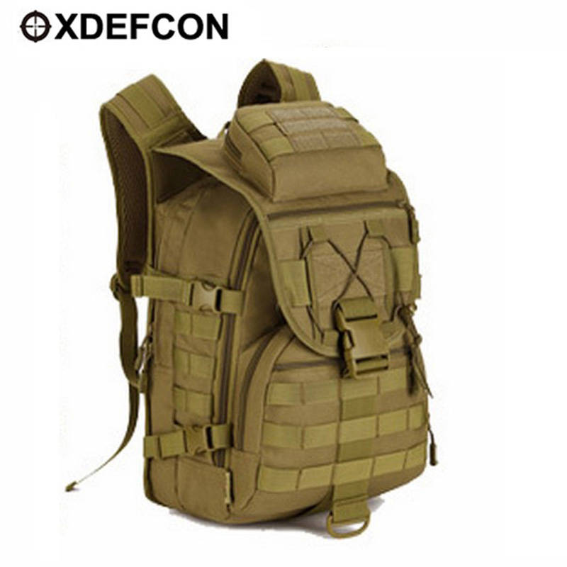 Waterproof Molle backpack Military 3P Tad Tactical Backpack Assault Travel bag for men Cordura 40L Tactical Hunting Backpack