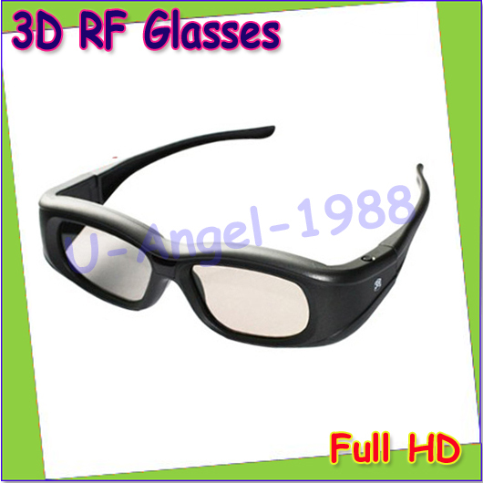 Free Shipping 2pcs/lot RF Active Shutter 3D Glasses Eyewear for Epson LCD 3D Projectors models 3020/3020e/5020UB/5020UBe/TW6000W(China (Mainland))