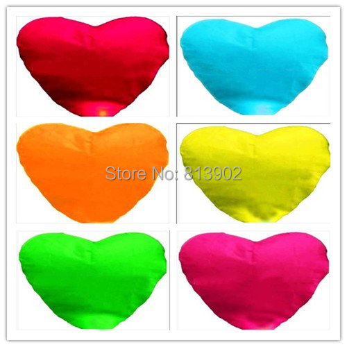 FREE SHIPPING  80PCS Heart Chinese Fire Sky Lanterns Wishing Balloon Birthday Wedding Christmas Party Lamp ,SLF07