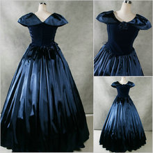 Freeship!Customer-made Vintage Costumes Victorian dress Renaissance Dress Steampunk dress Gothic Cosplay Halloween Dresses V-67