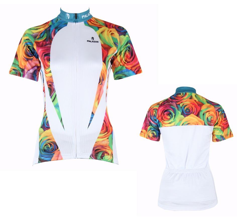Hot 2015 nova verão mulheres fêmea camisa de ciclismo da bicicleta da bicicleta camisa curto Jersey Jerseys Sports Wear roupas WS224 XS ~ XXXL(China (Mainland))