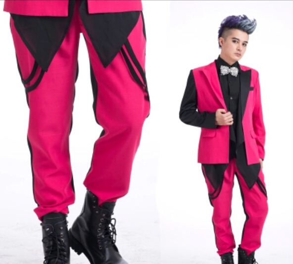 Pink Pants Men Promotion-Shop for Promotional Pink Pants Men on ...