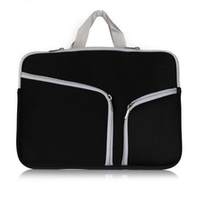 """Handbag for Apple Macbook air 13.3"""" / pro 13.3"""" two pockets portable bag protective tablet laptop Cover case shell coque housing(China (Mainland))"""
