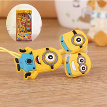 High Quality cartoon Mr minions 3.5mm in-ear headphones headsets earphones for IPHONE 3 4 4s 5 5s for ipad 2 3 4 mini mp3 mp4