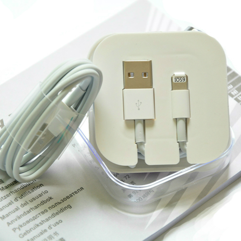 100% Genuine USB Data Sync Charger Cable For Apple iPad Mini iPhone 5 5c 5s 6 Original Cable ios 7 8