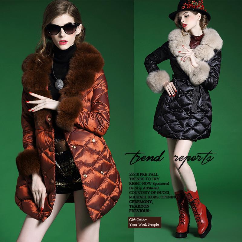 Зима вниз пальто осень и зима женщины