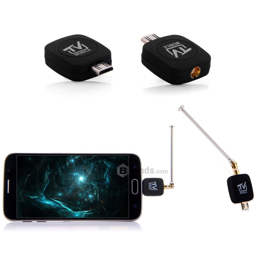 Super Mini Micro USB DVB-T ISDB-T Digital Mobile Streamer ez TV Tuner Receiver Stick Dongle Antenna for Android/Phone/Ipad table(China (Mainland))