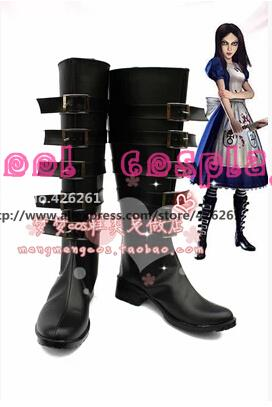 Alice: Madness Returns Default Cosplay Boots Shoes Custom MadeОдежда и ак�е��уары<br><br><br>Aliexpress