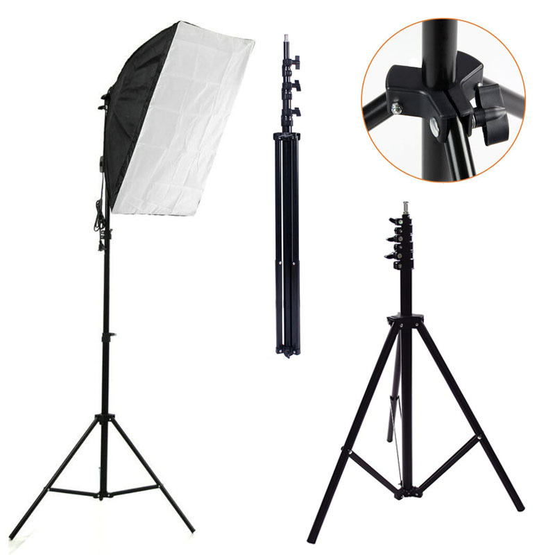 240cm 7.8ft Light Lamp Stand Tripod for Photo Studio Video Flash Umbrellas Reflector Lighting 2.4m#F80702(China (Mainland))