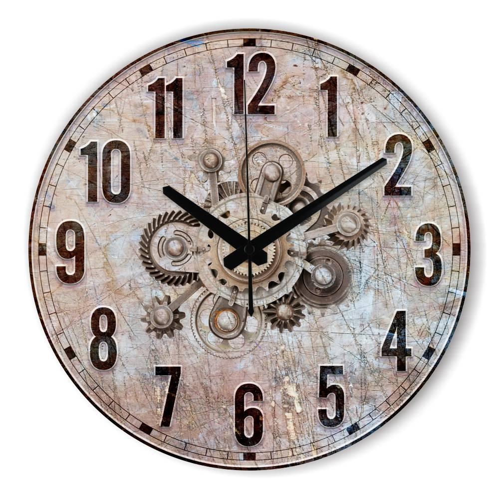 achetez en gros horloge murale engrenages en ligne des grossistes horloge murale engrenages. Black Bedroom Furniture Sets. Home Design Ideas