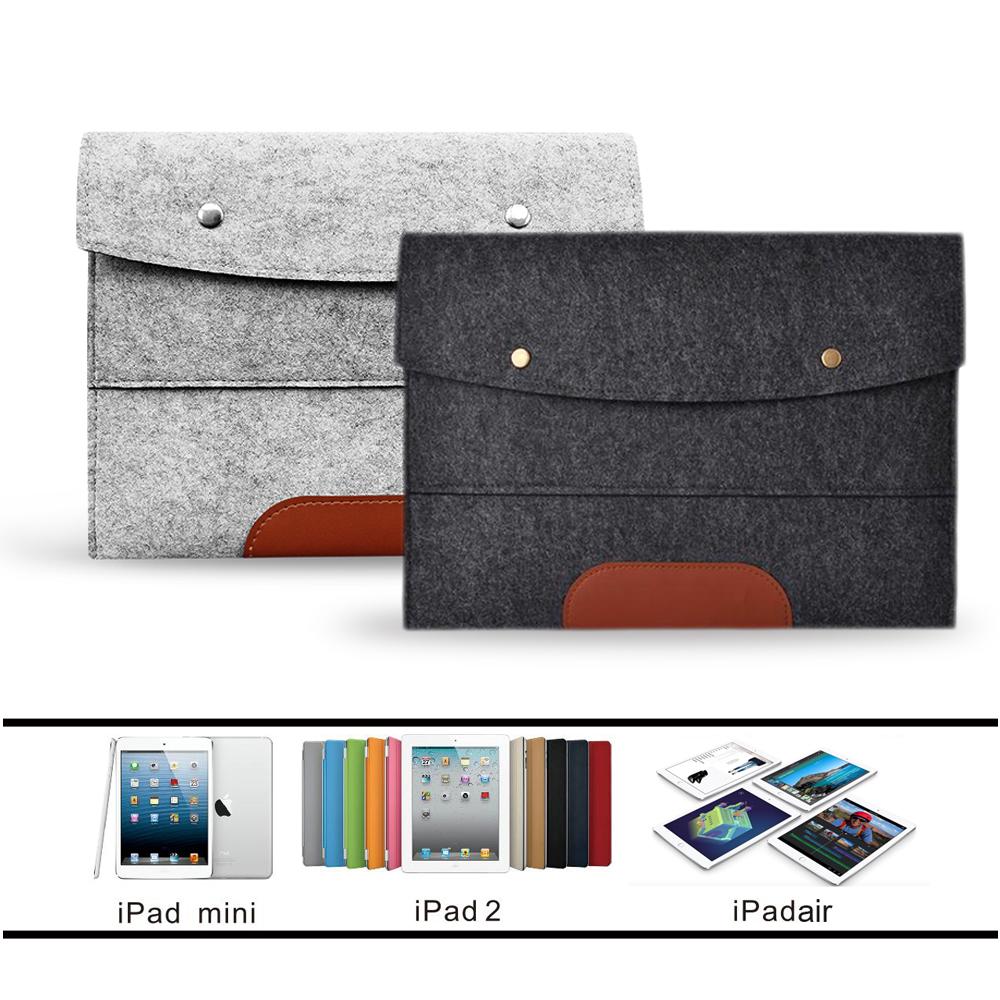 Гаджет  Case Cover for Apple iPad 2 3 4 5 6 Air mini Felt Sleeve Handle Laptop Sleeve Pouch Cover Bag for iPad 2 3 4 iPad Air mini Case None Компьютер & сеть