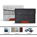 Case Cover for Apple iPad 2 3 4 5 6 Air mini Felt Sleeve Handle Laptop Sleeve Pouch Cover Bag for iPad 2 3 4 iPad Air mini Case