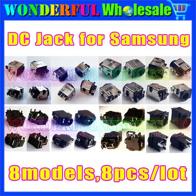 8 models,8pcs/lot,DC Jack Connector for Samsung laptop NP300 NP-RV410 RV415 RV510 RV511 RV515 RV520 RV720 RC510 RF510 RF710(China (Mainland))