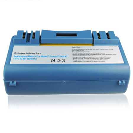 14.4V 3.5Ah 4.5Ah Ni-MH Battery For iRobot Scooba 330 340 34001 350 380 5800 5900 6000 Cleaner APS 14904 SP385-BAT SP5832 34001(China (Mainland))