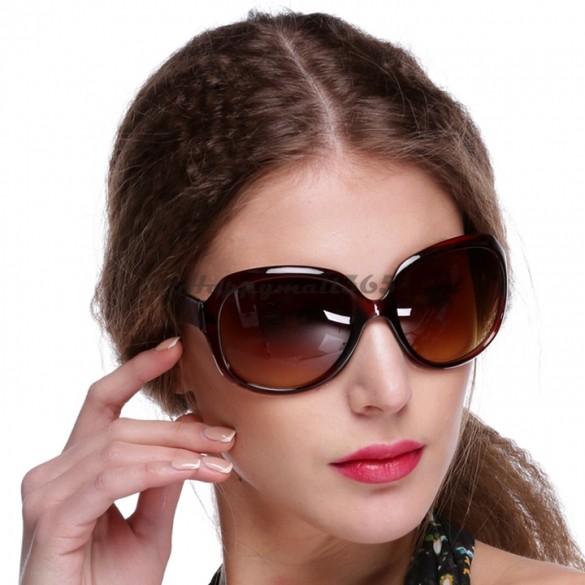 3 Colors Women's Designer Oversized Vintage Tortoise Frame Lens Retro Round Sunglasses Shades Eyeglasses Glasses B9 SV002740(China (Mainland))