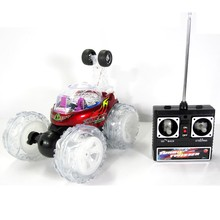 kids gift F06505 9088A Wireless Remote Control Stunt Car RC Dump Dancing Car Creativity Gift New Exotic Toy Free shipping(China (Mainland))