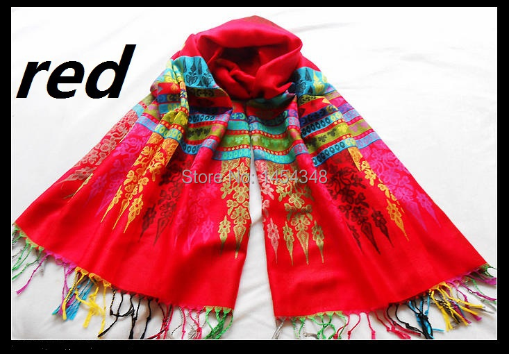 fresh store: Bohemia national trend thermal scarf fashion multicolour autumn and winter cape unique scarf(China (Mainland))