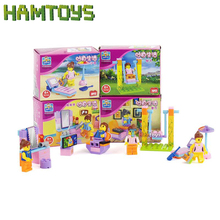 2016 1pc Girl Series Friend Outdoor Pool Mini Figure Kid Baby Toy Building Blocks Sets Model Toys Minifigures Brick #BLG001(China (Mainland))