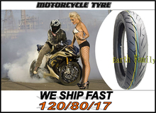 Motorcycle Road Tubeless vacuum tires tyres for motocross cross motorcycle front tire tyre 120/80/17 120-80-17 120 / 80 / 17(China (Mainland))