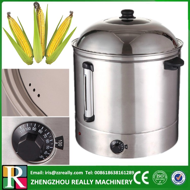 48L CE approved electric sweet corn cooking steamer pot & food bain-marie(China (Mainland))