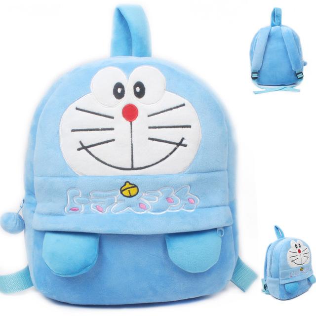 Новое поступление синий Doraemon плюшевые мультфильм рюкзак дети характер мешок подарок для детей в возрасте 3 - 5 Mochila Infantil горячая распродажа