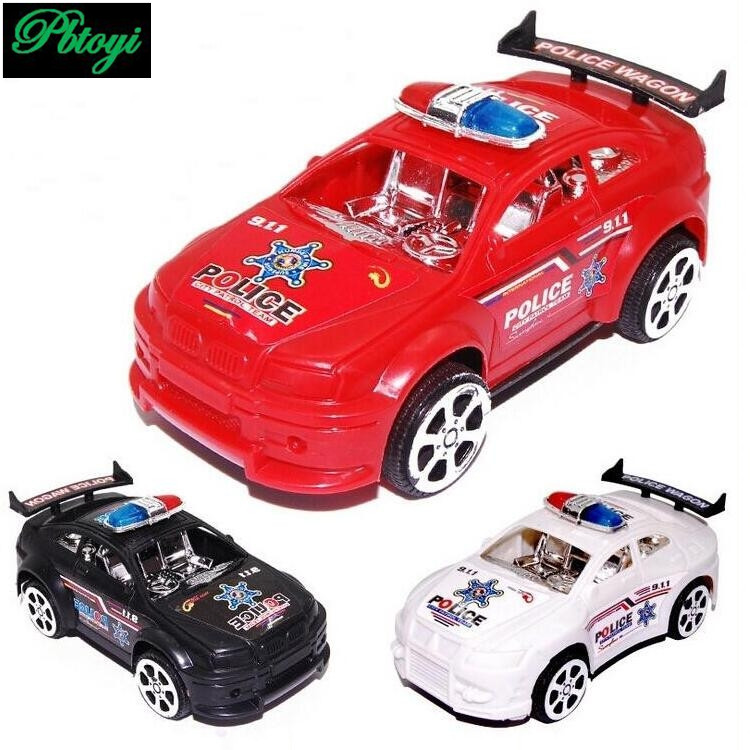 Police toy car model luxury sports car d class car model cheap sports car PI0667(China (Mainland))