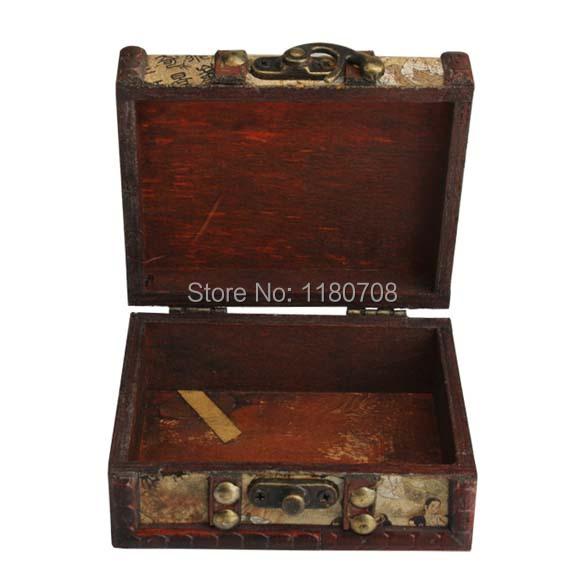 1 х портативный татуировки чехол классические деревянные путешествия носит Box