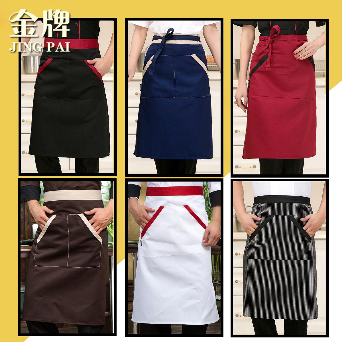 Chef Uniform Limited Sale Cotton Women Aprons 2016 Chef Apron Pwq34(China (Mainland))