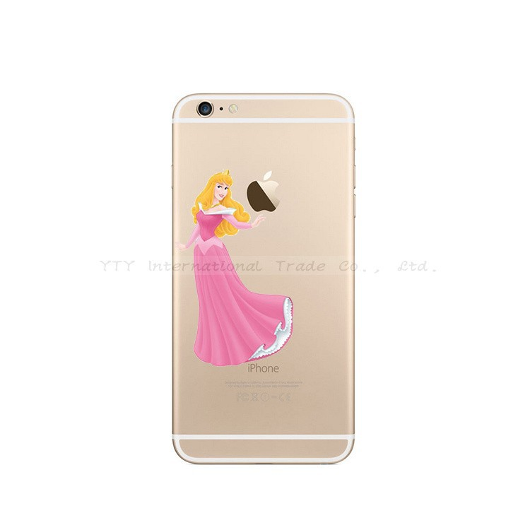 6/6S Cases For Apple iPhone 6 6S Case Shell Snow White Anna Mermaid Ariel Cinderella Cover Pretty Girl Top Popular Fashion Hot!!