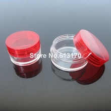 Free shipping wholesale 10g/ml 1/3oz empty cream jar cosmetic skin care packing jars medicine container