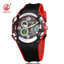 2016 New OHSEN Relogios Masculinos Luxury Brand Backlight Digital Display Date Alarm Stopwatch 30M Waterproof Sports Watches Men