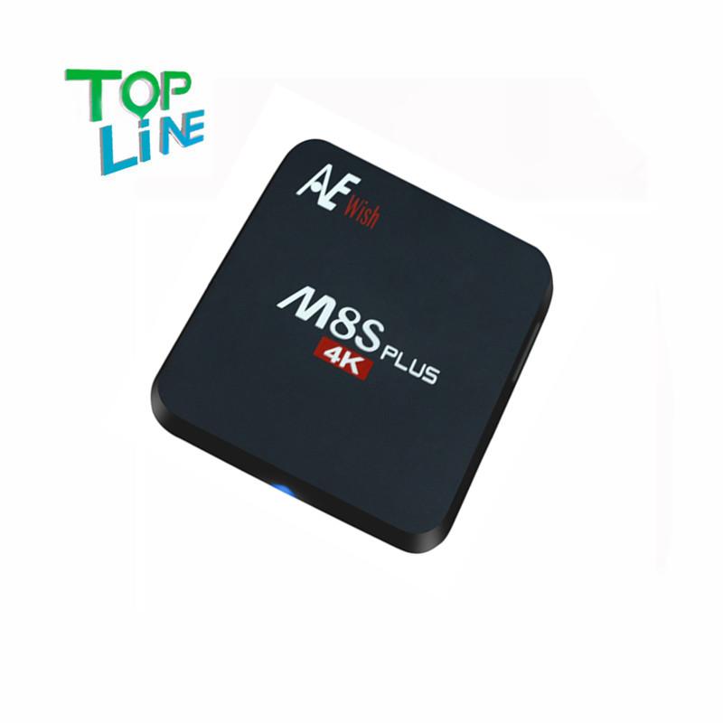 ANEWKODI android tv box M8S PLUS m8s+ Quad-Core Smart TV Amlogic S905 KODI 16.0 4K 2G/16G WIFI Full HD Android 5.1 Media Player(China (Mainland))
