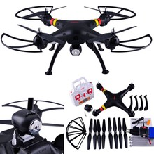 Drone 2.4G 4CH 6Axis Syma X8C RC Quadcopter with Wide Angle With 2MP HD Camera R/C Helicopter