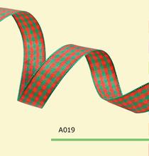 1/4″Inch (7mm) ,Tartan Plaid Craft Ribbon