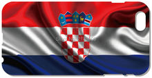 2016 Painting Croatia Flag Cover For iphone 5 5S SE 5C 6 6S Plus Touch 5 6 For Samsung Galaxy A3 A5 A7 J1 J2 J3 J5 J7 Phone Case