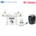 Original DJI Phantom 3 4K with Original DJI Hardshell Backpack FPV RC Quadcopter with 4K Camera