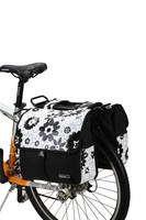 ROSWHEEL New Cycling Bike Bicycle 28L Double Side Rear Rack Tail Seat Pannier Bag Fashion Fit for Short-distance Riding