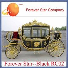 princess cinderella horse drawn carriage/wagon/cart for sale(China (Mainland))