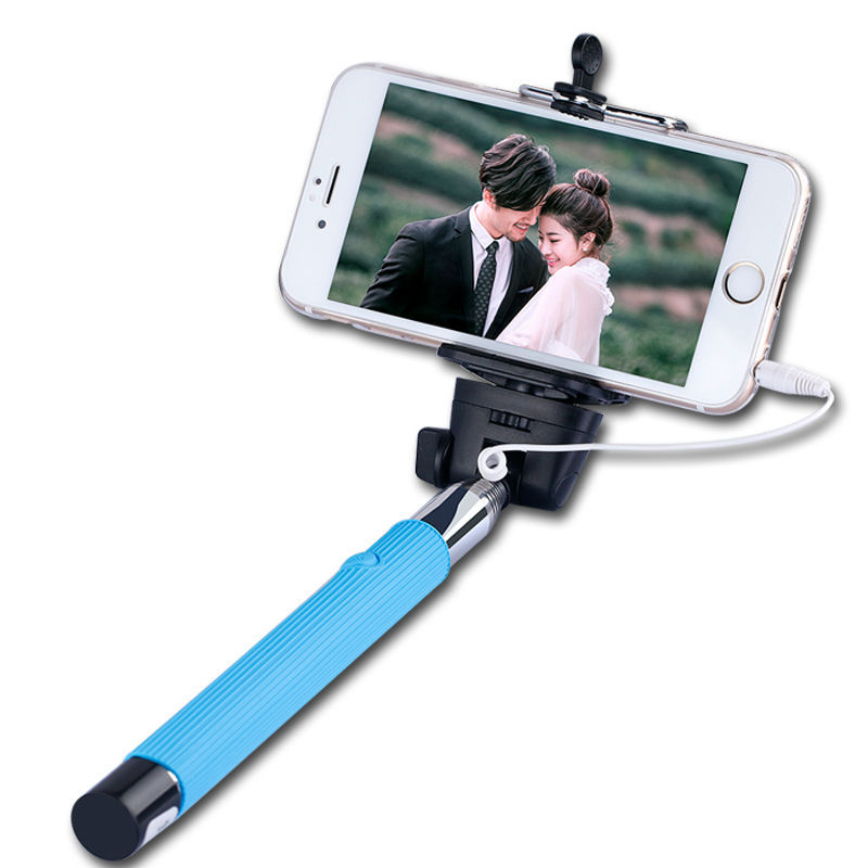 wired selfie stick extendable monopod no bluetooth pau de palo selfie to self. Black Bedroom Furniture Sets. Home Design Ideas