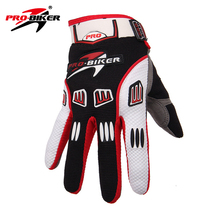 PRO-BIKER Motocross Off-Road Full Finger Gloves Racing Riding Motorcycle Gloves Breathable Bicycle Bike MTB Cycling Guantes(China (Mainland))