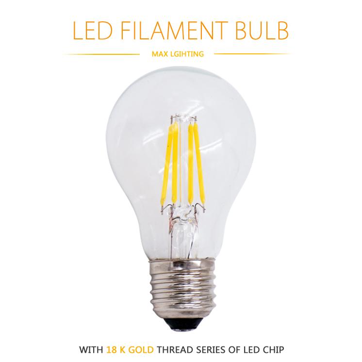 LED Filament Bulb lampada LED 220V bombillas LED Edison Bulb E27 E14 A60 G45 C35 Candel Light 2W 4W 360 Degree Wholesale(China (Mainland))