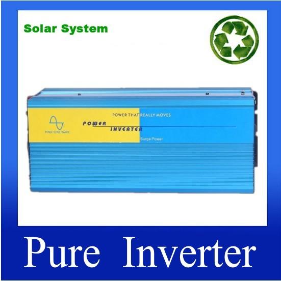 Pure Sine Wave Inverter 4000W DC12v 24V 48V To AC220V 110V 4000Watt Converter Car Power Inverter For Solar/wind/ Power<br><br>Aliexpress