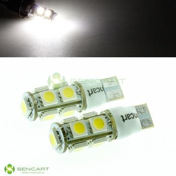 T10 2W Fast Strobe Flash 9-5050 SMD LED White Lights width lamp bulbs