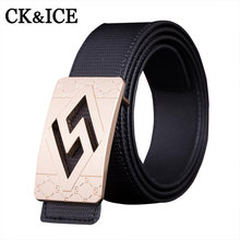 Buy 2017 Fashion Mens Belts Luxury Brand Designer Belts Men High Genuine Leather Belts Men Smooth Buckle Cinto Feminino for $9.78 in AliExpress store