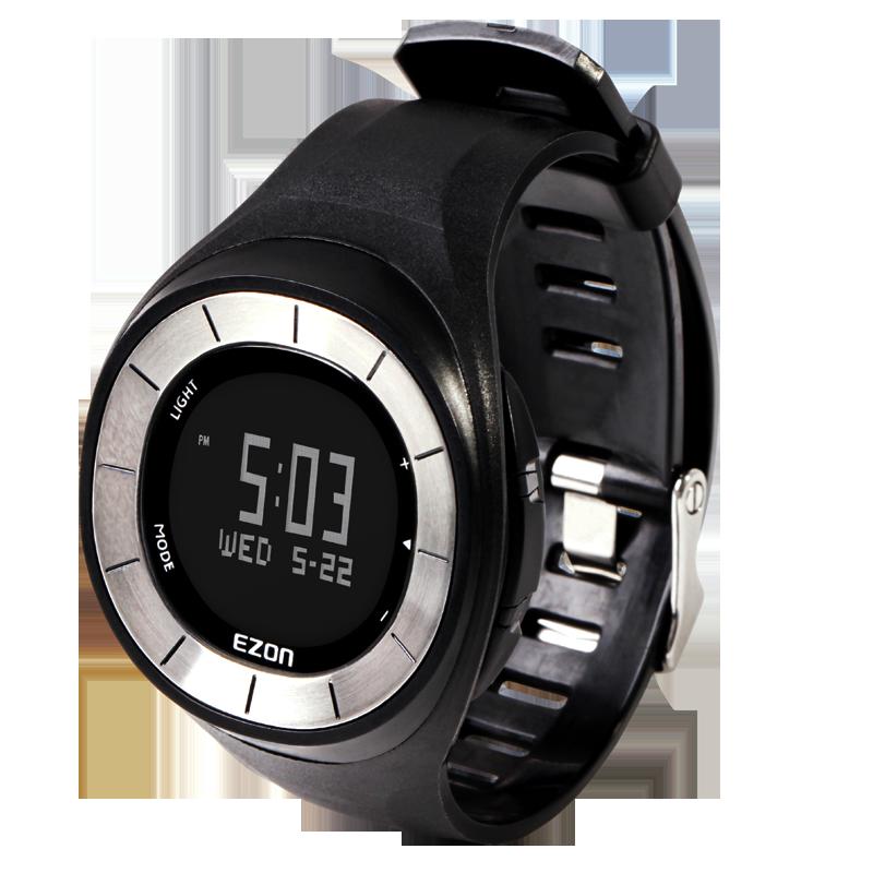 Sports watch running male waterproof multifunctional t028 black white pedometer<br><br>Aliexpress