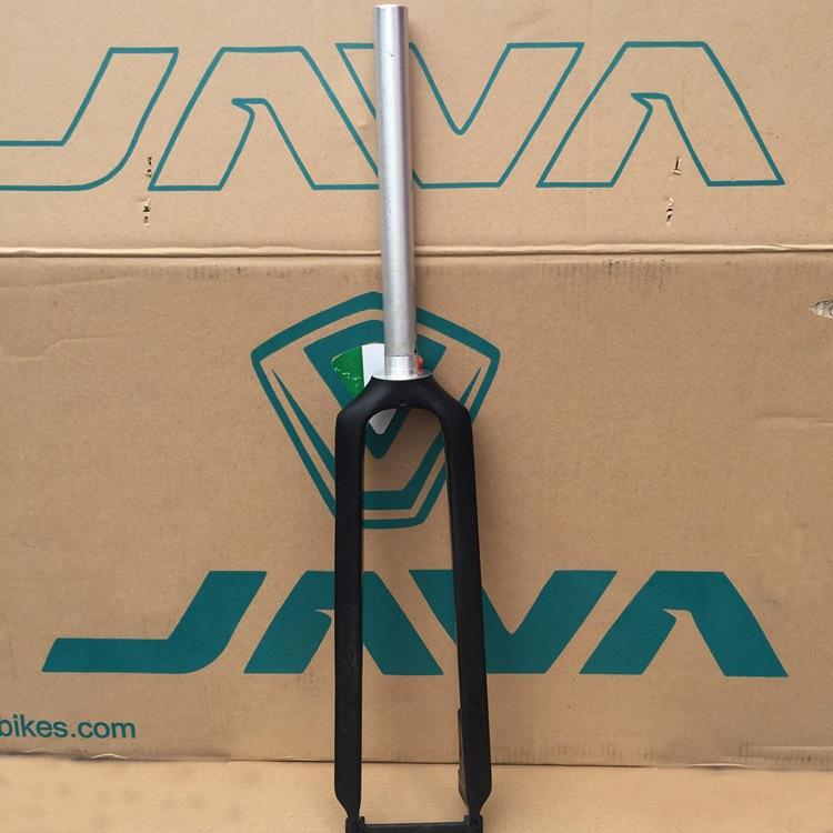 1pcs  Black JAVA 3K Half Carbon&amp;Aluminium Fork Rigid Fork Disc Brake For 26 27.5 29 MTB Straight Forks 1 1/8 28.6mm Bike<br><br>Aliexpress
