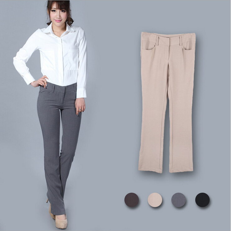 What Shoes Do I Wear With Gray Trousers Female